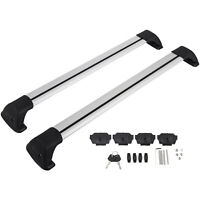 Roof Rack for Mazda CX5 2012-2018 Lockable Baggage Carrier 2 PCS Cargo Set