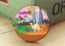 UAE DuBai Tourist Travel Souvenir 3D Rubber Fridge Magnet Worldwide GIFT IDEA