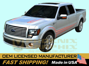 compatible with, 2011 Ford F-150 Harley Davidson Truck Decals Graphics Stripes