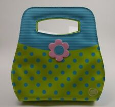 Leap Frog Leapster Accessory Fashion Handbag LeapsterGS/Explorer Green Blue Dots