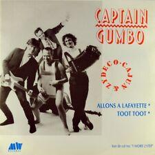 "7"" CAPTAIN GUMBO Allons à Lafayette / Toot MW dutch Cajun Zydeco 1990 like NEW!"