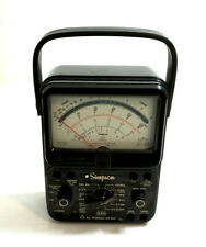 SIMPSON 260 Series 8P Analog Multimeter Volt Ohm Meter ~ NICE CONDITION!!