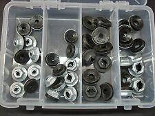 40 pcs Ford thread cutting emblem name plate script sealer nuts assortment