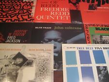 BLUE NOTE JAZZ SET COLTRANE REDD BROOKS JACKSON MORGAN DORHAM BYRD MOBLEY 10LPS