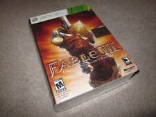 Fable 3 III Limited Collector's Edition (Xbox 360/One/X) special new SEALED