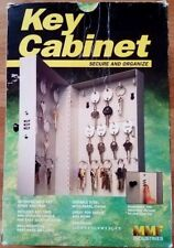 Key Cabinet Lockable Combination 28 Hooks for Key(s) Storage - with Key Tags