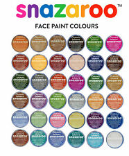 Snazaroo Classic Face Paints 18ml (Various Colours) Halloween and Fancy Dress
