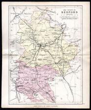 1800-1899 Date Range County Map Antique Europe Folding Maps