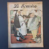 Le Sourire N° 2 du 4 Novembre 1899 - Illustrateur FAIVRE & GRÜN