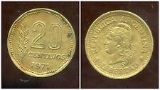 ARGENTINE 20 centavos 1971