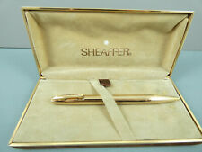 Superb Vintage Sheaffer Imperial 777 12K Gold Plated Ballpoint Pen,GT,Box *MINT*