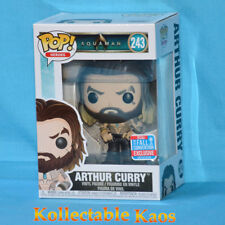 Aquaman Arthur Curry NYCC 2018 Funko Pop Vinyl Figure PREORDER Oct