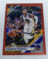 D'Angelo Russell 2019-20 Panini Optic Red Prizm Wave Golden State Warriors #28