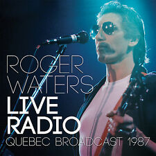 ROGER WATERS of PINK FLOYD Sealed 2017 UNRELEASED LIVE 1987 QUEBEC CONCERT CD