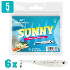 Gummifische Lieblingsköder 5cm Sunny Gummiköder