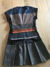 DESIGNER DRESS LINED PLEATED WORK PARTY SZ M