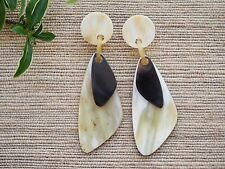 Natural Buffalo Horn Jewelry Earrings