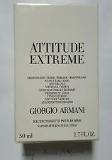 ARMANI ATTITUDE EXTREME GIORGIO ARMANI 50ml EDT Spray Tester Sealed Box Rare