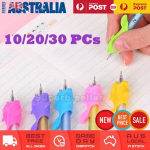 10/20/30 Kids Children Pencil Holder Writing Aid Grip Posture Tools Correction