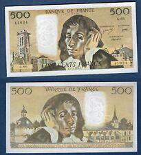 500 Francs Pascal - 4/11/1976 G.66 SPL + - Type 1968