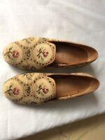 Stubbs $ Wootton  Canvas Needlepoint Loafers - Size 8 US