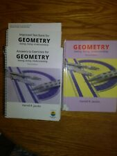 JACOBS GEOMETRY: SEEING, DOING, UNDERSTANDING TEXTBOOK - Hardcover