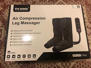 Leg Air Massager Leg Circulation Compression Machine Pump Restless Sleeves Wrap