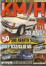 KM/H 50 BMW M3 E36 ESCORT RS2000 205 GTI CLIO V6 GOLF R32 NISSAN 350Z COLT TURBO