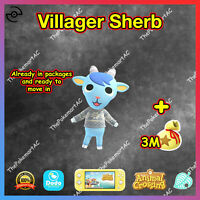 Animal Crossing New Horizons | Villager Sherb | Bewohner Morpheus