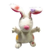 Hallmark Gotta Hop Bunny Sound & Motion Rabbit Plush 13in Stuffed Electronic Toy