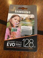 SAMSUNG 128GB MICRO SD CARD 100MB/s (U3) EVO Select Class10 HTC Samsung Galaxy