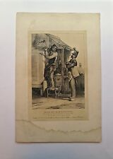 Lithographie, La pie est ce qu'il y a de pis, Charlet, 1792-1845