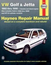 Haynes Manuals: Haynes VW Golf and Jetta 1993-1998 by George Parise (2002, Paper