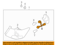 KIA OEM 10-13 Forte Taillight Tail Light Lamp Rear-Socket & Wire 924401M200
