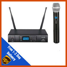 Pulse UHF Handhelid Wireless Microphone Mic System | DJ | PA