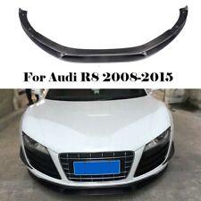 Carbon Fiber Front Bumper Chin Lip Lower Spoiler For Audi R8 GT V8 V10 08-15