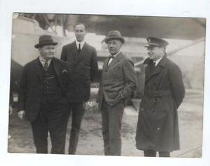 1925 NORTH POLE EXPEDITION AMUNDSEN DORNIER DO J HAMMER CAPTAIN RARE PHOTO
