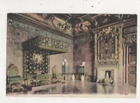 State Throne Room Chatsworth House [JWS 2445] 1904 Postcard 053b