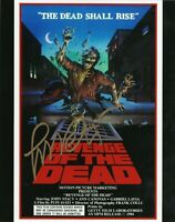 Pupi Avati ZEDER Revenge of the Dead Foto autografata Signed Autografo Cinema