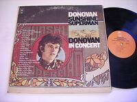 Donovan Sunshine Superman / In Concert 1975 Double Stereo LP