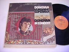 Donovan Sunshine Superman / In Concert 1975 Double Stereo LP