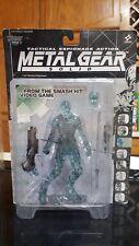 Metal Gear Solid Clear Varian Ninja action figure Mcfarlane toys 1999