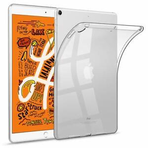 For iPad Mini 5th 2019 Air 10.5 Pro 9.7 Slim Soft Clear TPU Silicone Case Cover