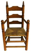 """Wallace Nutting """"Pilgrim"""" armchair, No 493, American, c. 1925, mixed w. Lot 42"""