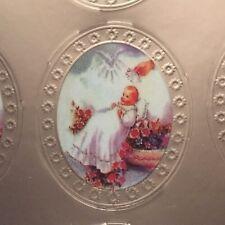 Baby Baptism / Bautizo Metallic 140 Stickers For Favors, Invitations