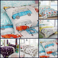 Designer Duvet Cover Set King Size Double Single Super Bedding Animal Print Kids
