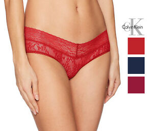 Calvin Klein Womens Bare Lace Hipster