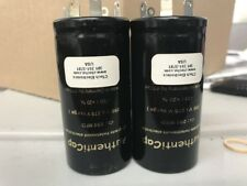 2 x 250 UF 250 V Capacitors For McIntosh MC-75 MC-240 MC-225 Tube Amplifiers