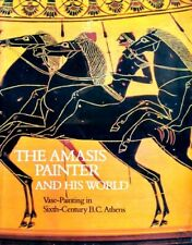 Greek Amasis Painter Athens 600BC Attic Black Figure Vases Amphorae Cups 362pix