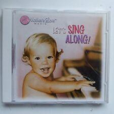 Let's sing along Mother's love music  for children  22772 CD ALBUM